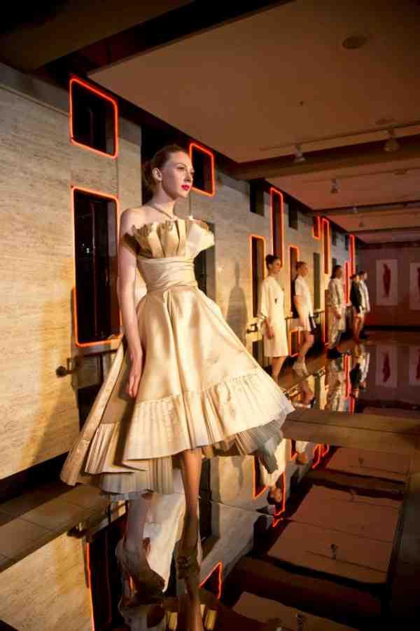 Kalamakeup for SCAD fashion show