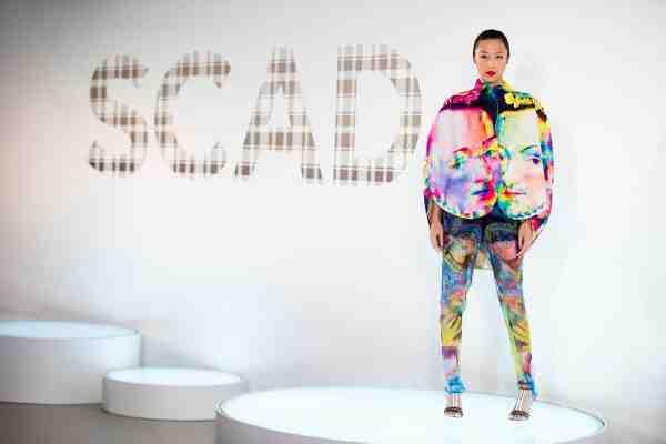 Kalamakeup for SCAD fashion show 17