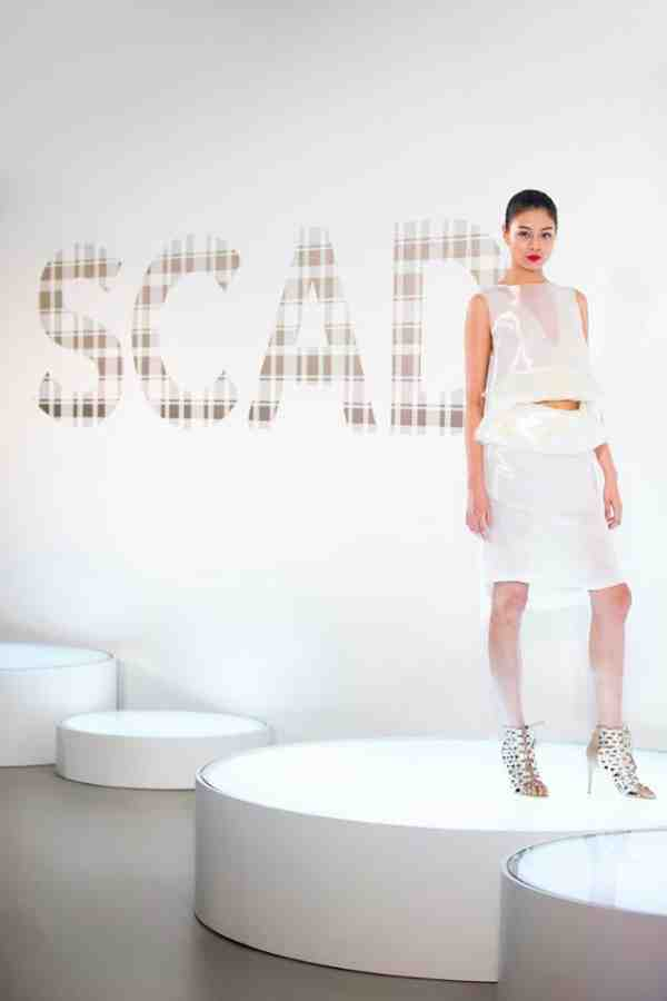 Kalamakeup for SCAD fashion show 4