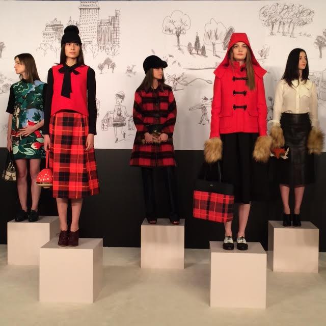 Kalamakeup for Kate Spade Fashion Show