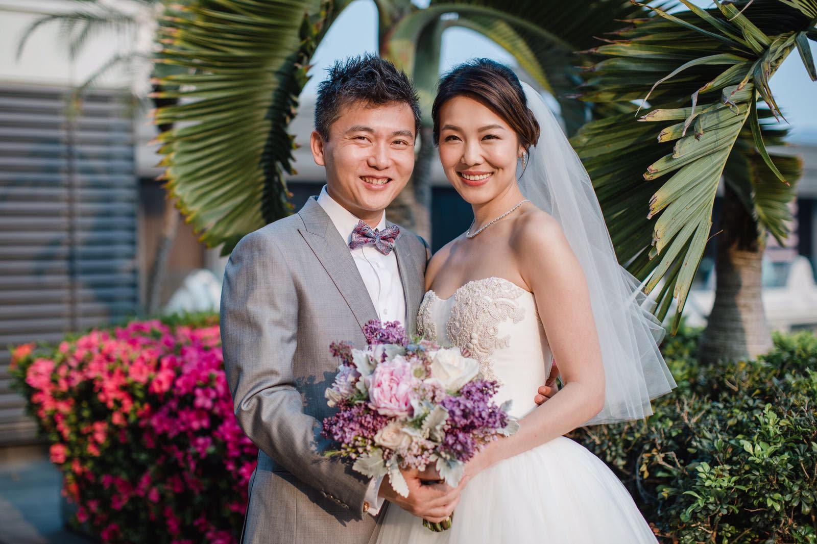 Hannah kong wedding