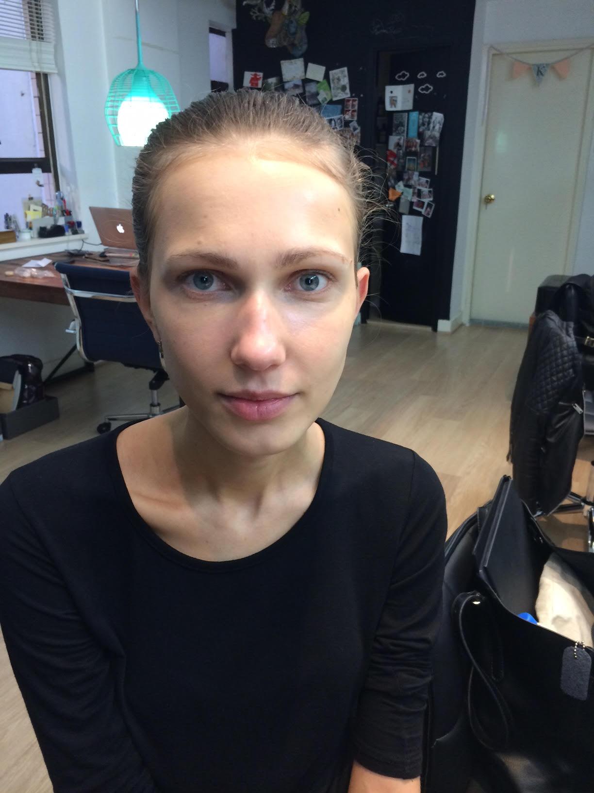 make up artist new york model sisley paris kate spade 2